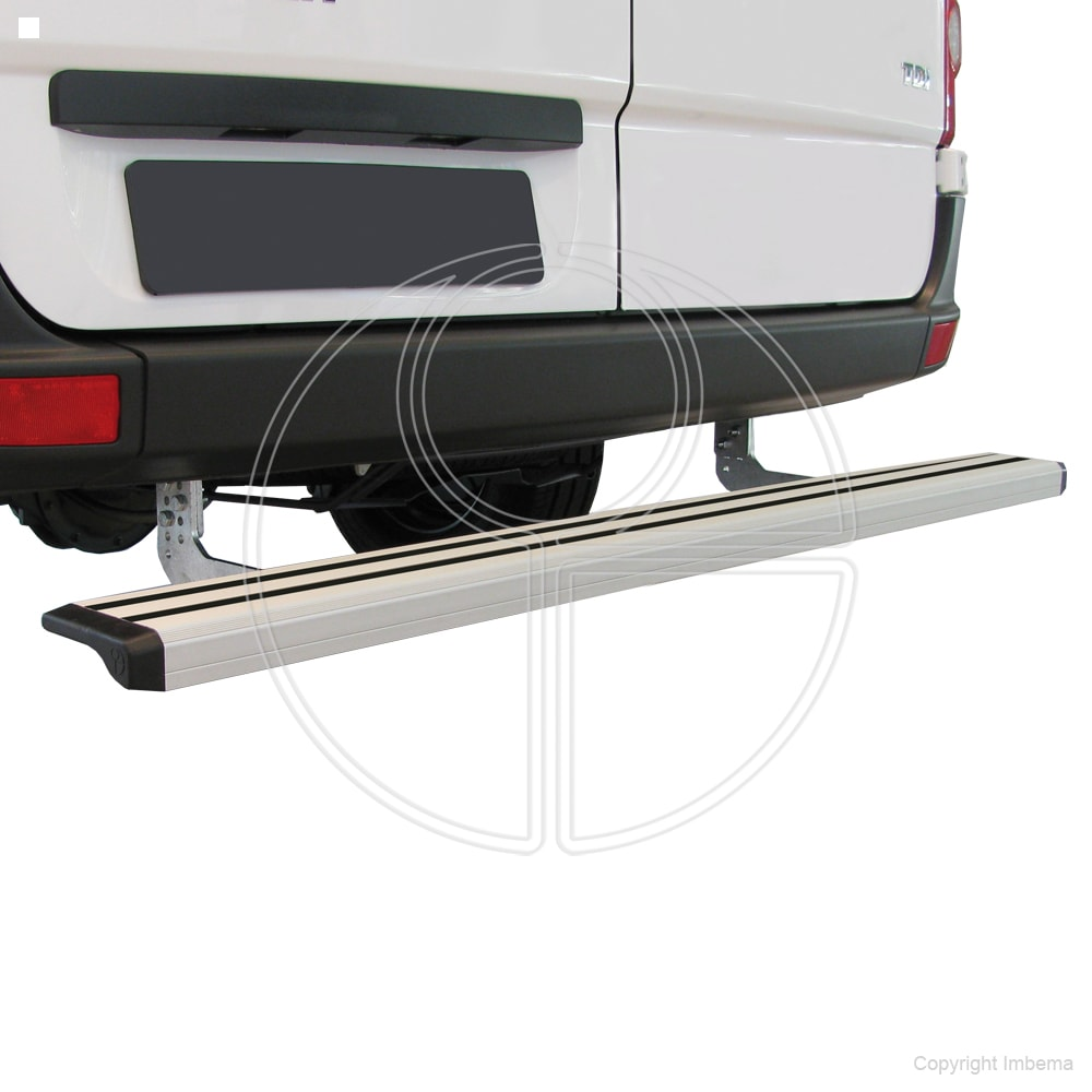 Rhiwa Easy Step opstapsysteem zilver Iveco New Daily