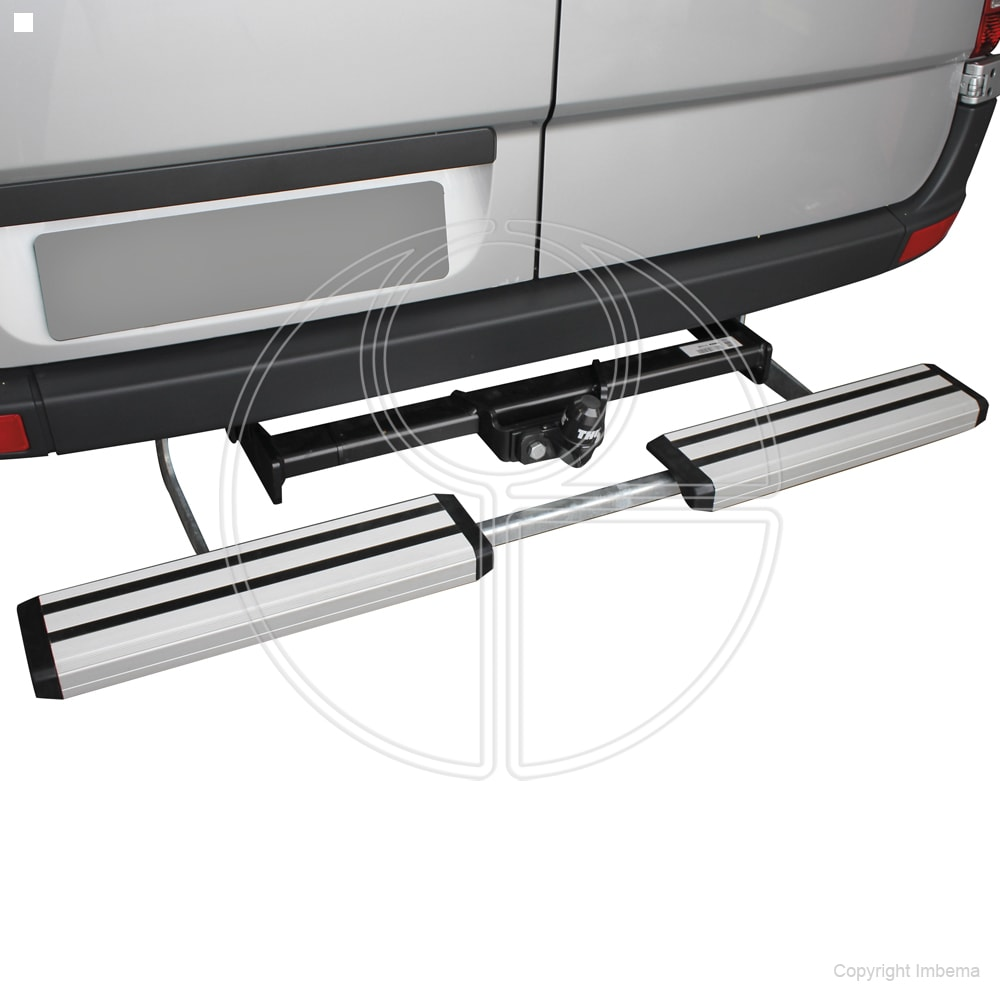 Rhiwa Easy Step TB opstapsysteem zilver MB Sprinter – VW Crafter
